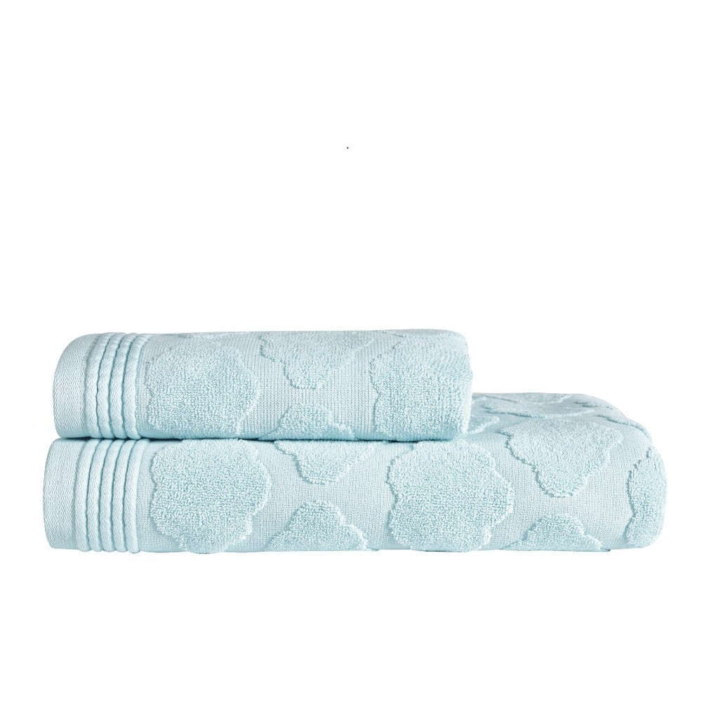 Πετσέτες Βρεφικές Σετ 2Τμχ Cloud 19 Ζακάρ Baby Blue Kentia Σετ Πετσέτες