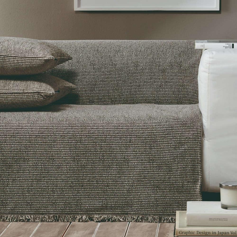 Ριχτάρι Ribbon 34 Brown-Olive Green Kentia Πολυθρόνα 170x180cm