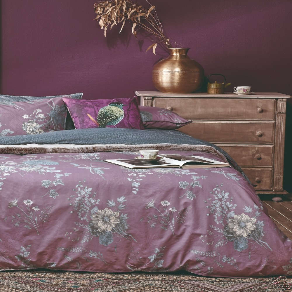 Σεντόνι Σετ 4Τμχ Odetta 05 Purple Kentia King Size 270x270cm