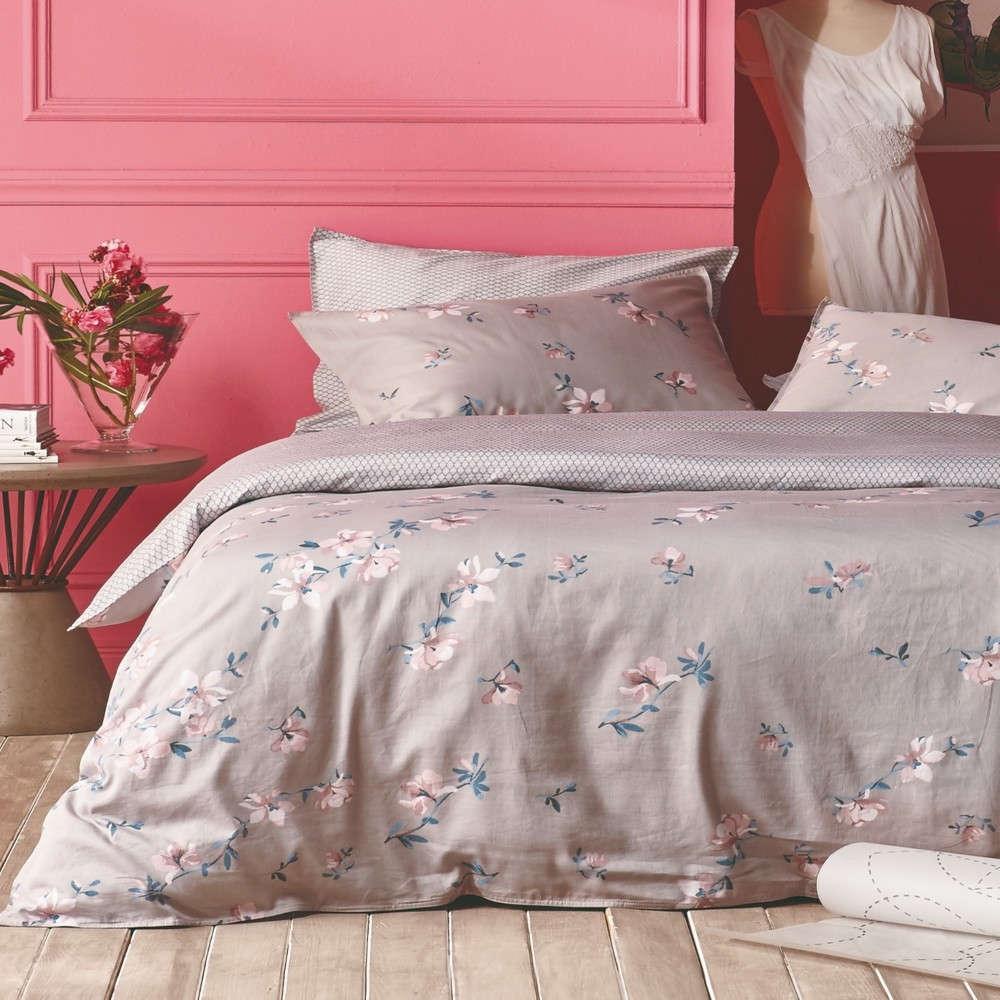 Σεντόνι Σετ 4Τμχ Estella 26 Με Λάστιχο Beige-Pink Kentia King Size 180x228cm