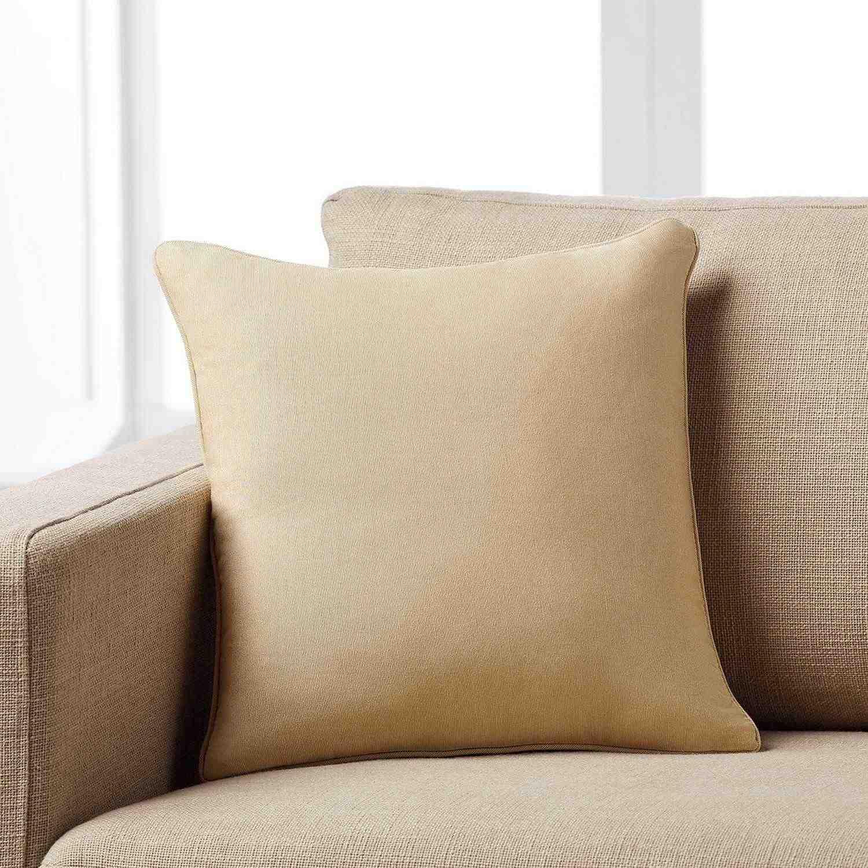 Μαξιλαροθήκη Μονόχρωμη 911/04 Brown Gofis Home 45X45 Βαμβάκι-Polyester