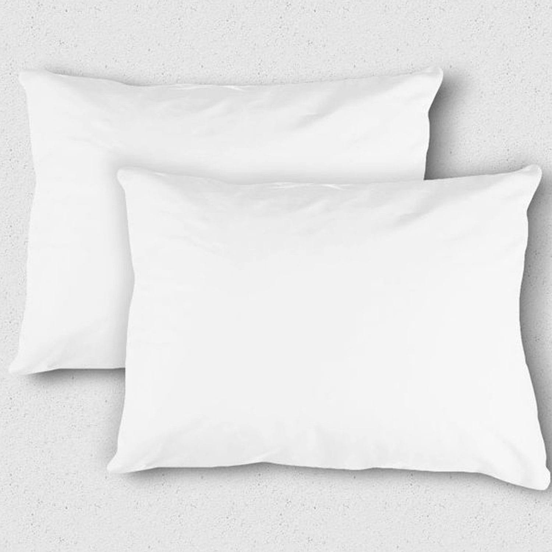 Μαξιλαροθήκες Ξενοδοχείου Φάκελος Σετ 2Τμχ White 100% Βαμβάκι designdrops 50Χ70 50x70cm