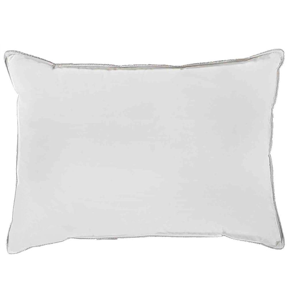 Μαξιλάρι Ξενοδοχείου White 233 Κλωστές 100% Βαμβάκι Περιεχόμενο Microfiber & Ηollowfiber 850gr. 50Χ70 50x70cm