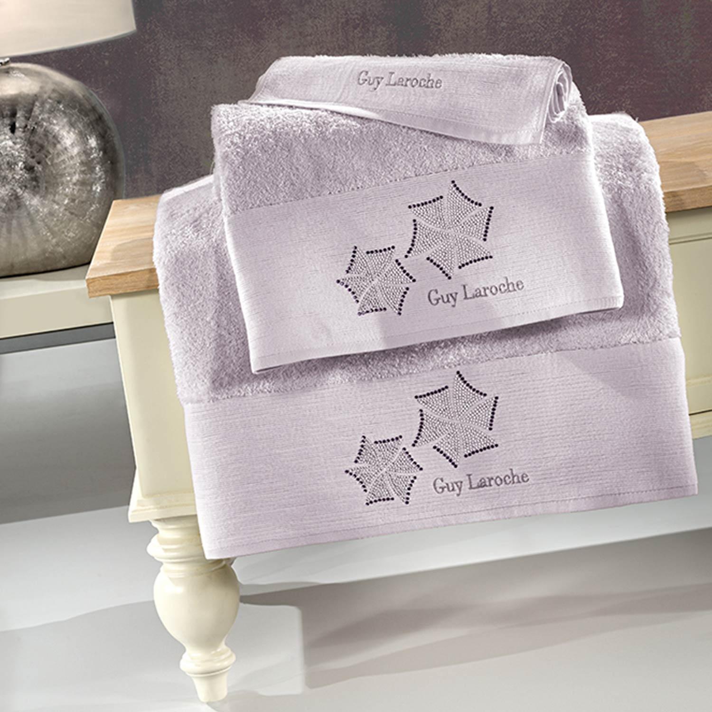 Πετσέτες Μπάνιου Σετ Wind Lilac 3τμχ Guy Laroche Σετ Πετσέτες 30x50cm