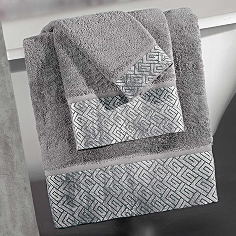 Πετσέτες Μπάνιου Σετ Wall Cement 3τμχ Guy Laroche Σετ Πετσέτες 30x50cm