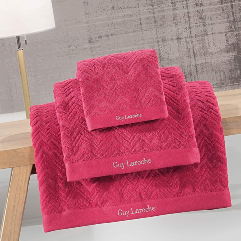 Πετσέτες Μπάνιου Σετ Palacio Ruby 3τμχ Guy Laroche Σετ Πετσέτες 30x50cm