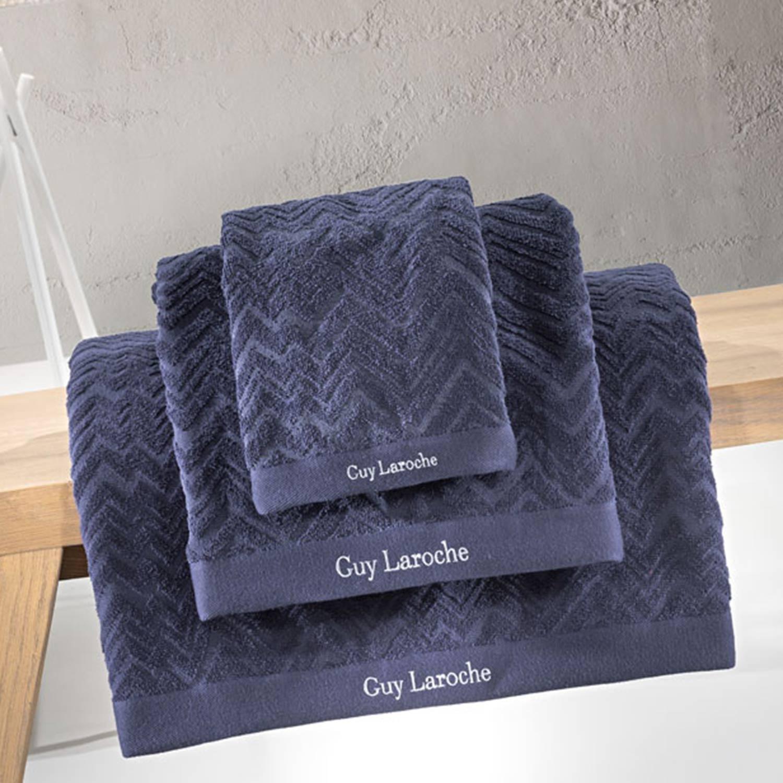 Πετσέτες Μπάνιου Σετ Palacio Marine 3τμχ Guy Laroche Σετ Πετσέτες 30x50cm