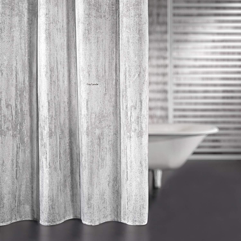Κουρτίνα Μπάνιου Wall Cement Guy Laroche Φάρδος 240cm 240x185cm