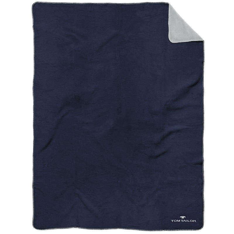 Κουβέρτα Καναπέ 807 ΤΤ 229938 Navy Tom Tailor 150X200 150x200cm