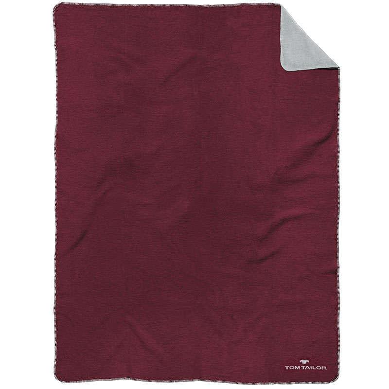 Κουβέρτα Καναπέ 840 ΤΤ 229938 Bordeaux Tom Tailor 150X200 150x200cm