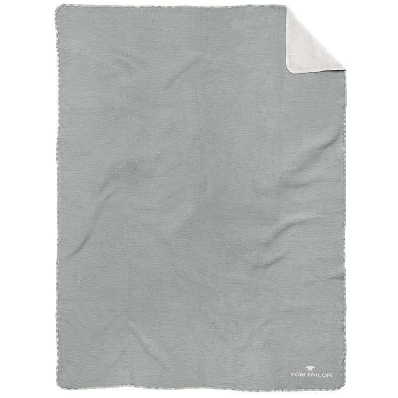 Κουβέρτα Καναπέ 844 ΤΤ 229938 Grey Tom Tailor 150X200 150x200cm