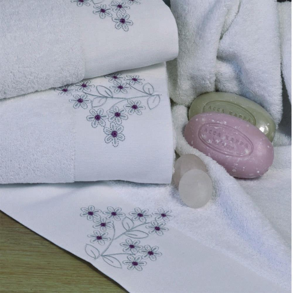 Πετσέτες Σετ 3Τμχ 2141 Powder Pink Homeline Σετ Πετσέτες