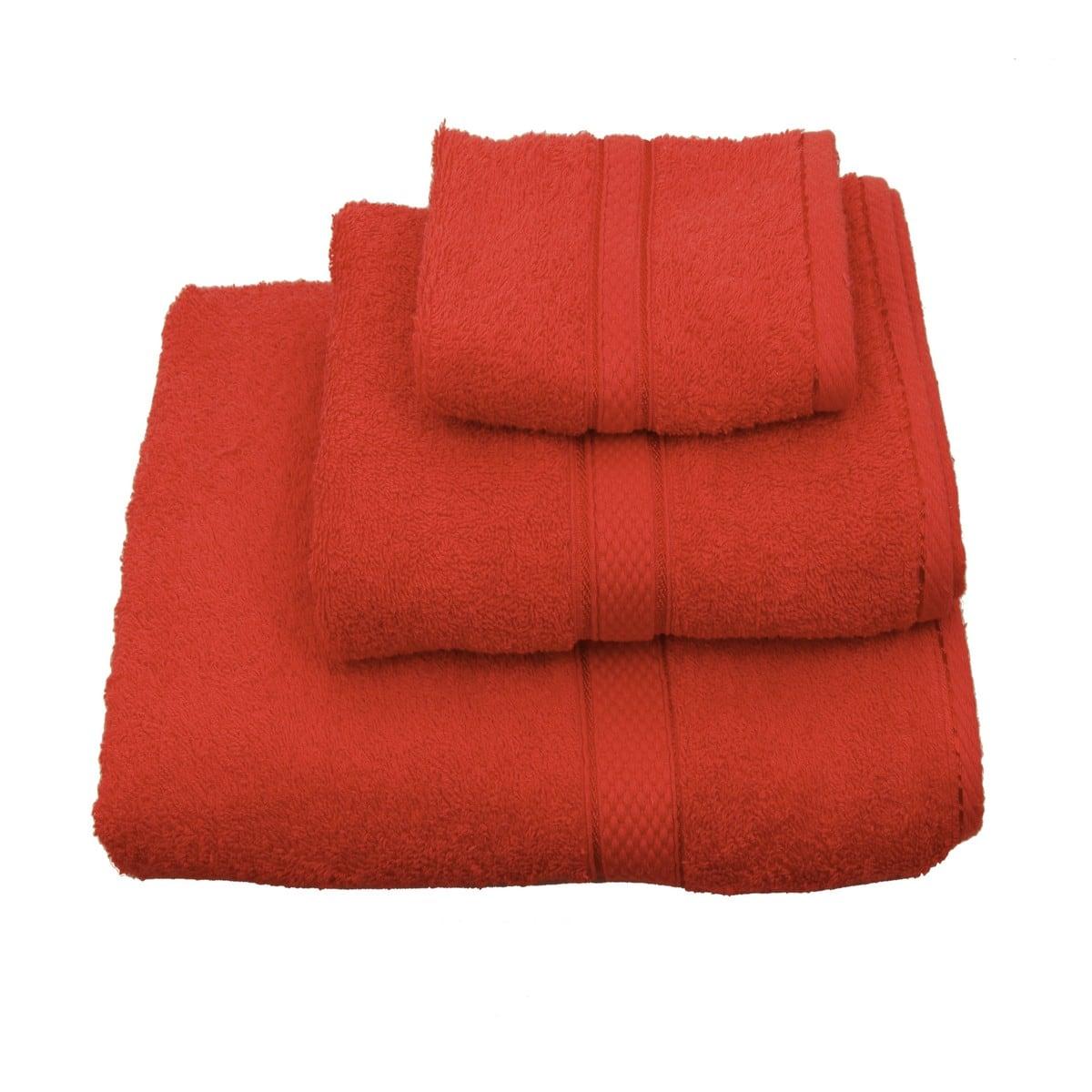 Πετσέτα Classic Κόκκινη Viopros Σώματος 80x160cm
