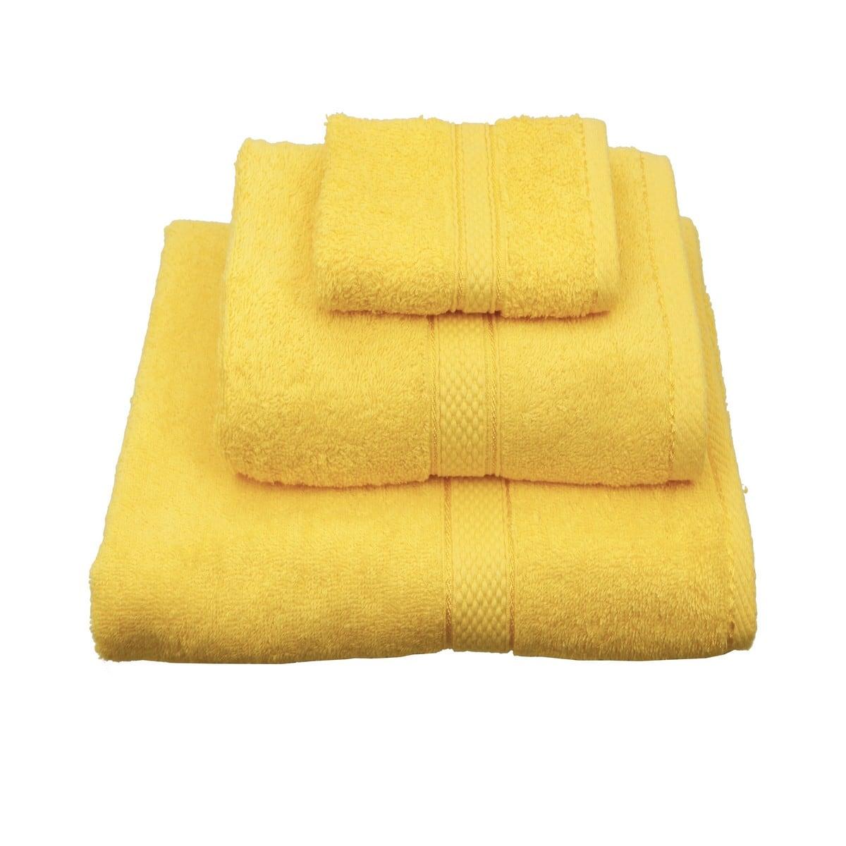 Πετσέτα Classic Κίτρινη Viopros Σώματος 80x160cm