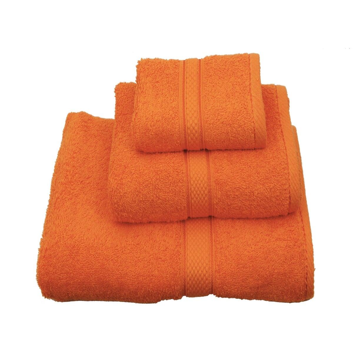 Πετσέτα Classic Πορτοκαλί Viopros Σώματος 80x160cm