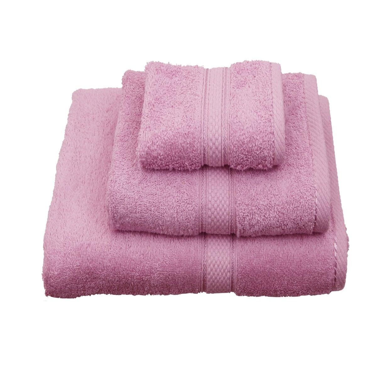 Πετσέτα Classic Pink Viopros Προσώπου 50x100cm