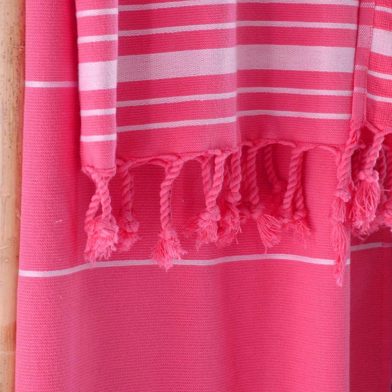 Πετσέτα Θαλάσσης Classic Fuchsia Ρυθμός Θαλάσσης 80x160cm