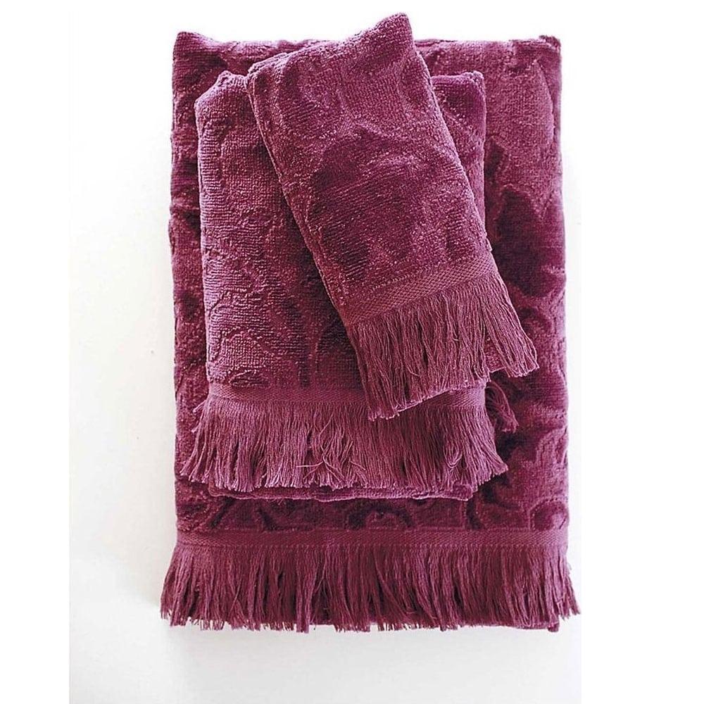 Πετσέτα Sienna Ruby Ρυθμός Προσώπου 50x90cm