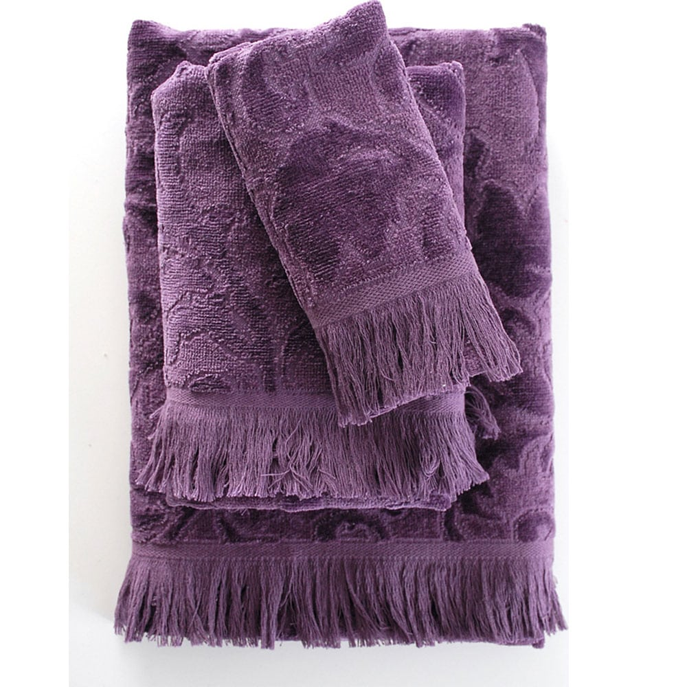 Πετσέτα Sienna Purple Ρυθμός Σώματος 70x140cm