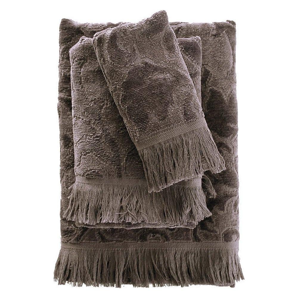 Πετσέτα Sienna Dark Grey Ρυθμός Προσώπου 50x90cm