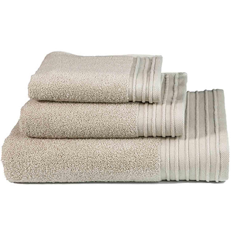 Πετσέτα Feel Fresh Light Beige Nima Σώματος 90x145cm