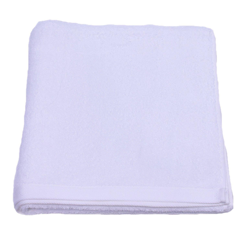 Πετσέτα Σώματος Home Colors Μονόχρωμη White Benetton Σώματος 70x140cm