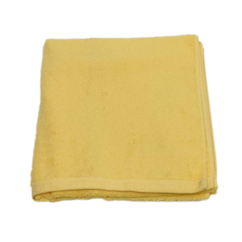 Πετσέτα Σώματος Home Colors Μονόχρωμη Yellow Benetton Σώματος 70x140cm