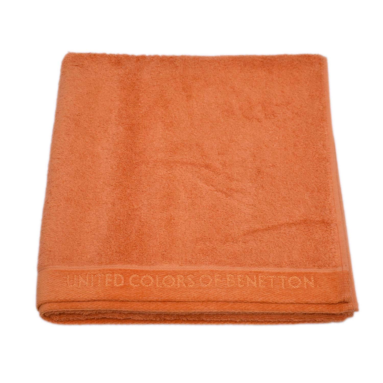 Πετσέτα Σώματος Home Μονόχρωμη Orange Benetton Σώματος 70x140cm