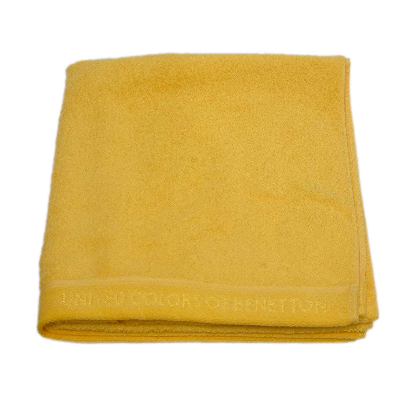 Πετσέτα Σώματος Home Μονόχρωμη Yellow Benetton Σώματος 70x140cm