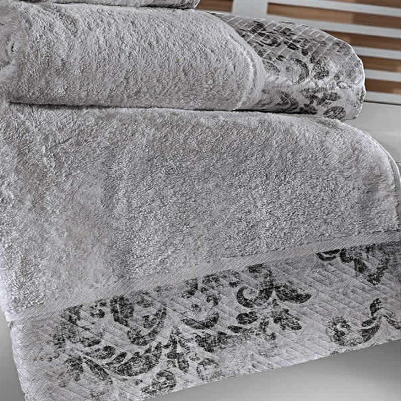 Πετσέτες Σετ 3 Τεμ. Style Cement Guy Laroche Σετ Πετσέτες