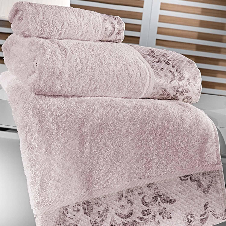 Πετσέτες Μπάνιου Σετ Style Amethyst 3τμχ Guy Laroche Σετ Πετσέτες