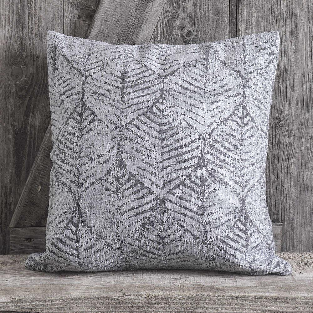 Μαξιλαροθήκη Διακοσμητική Avani Grey Rythmos 40Χ40 Chenille-Polyester