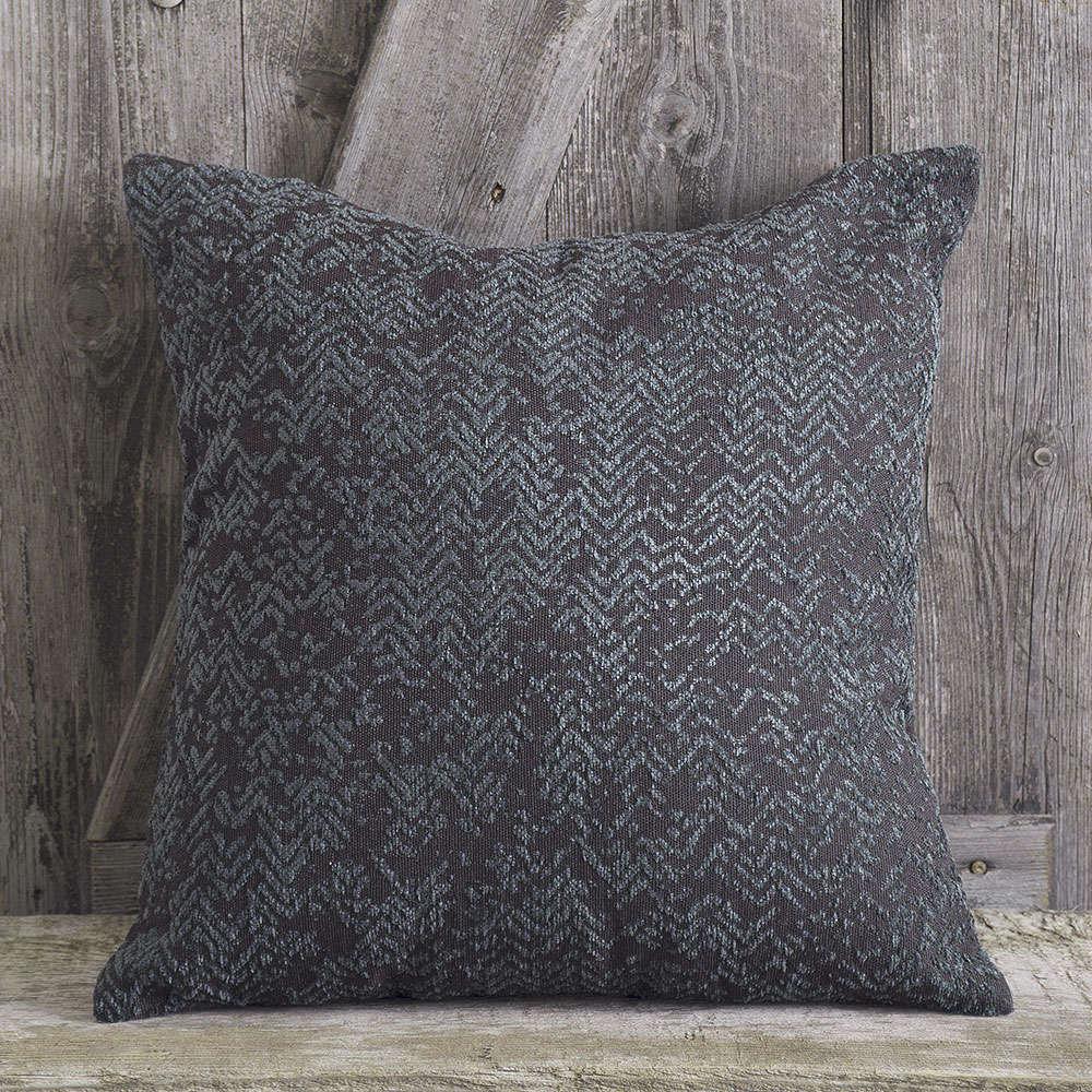 Μαξιλαροθήκη Διακοσμητική Grecko Grey Rythmos 40Χ40 100% Chenille