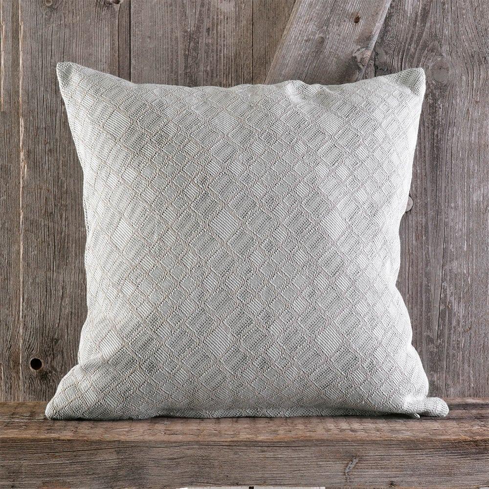Μαξιλαροθήκη Διακοσμητική Timon Grey Ρυθμός 40Χ40 Βαμβάκι-Polyester