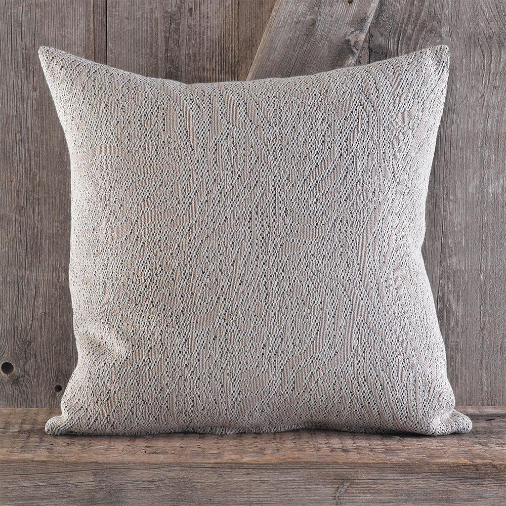 Μαξιλαροθήκη Διακοσμητική Waves Grey Ρυθμός 40Χ40 Βαμβάκι-Polyester