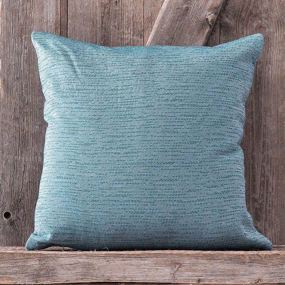 Μαξιλαροθήκη Διακοσμητική Caleb Blue Ρυθμός 40Χ40 Bamboo-Polyester