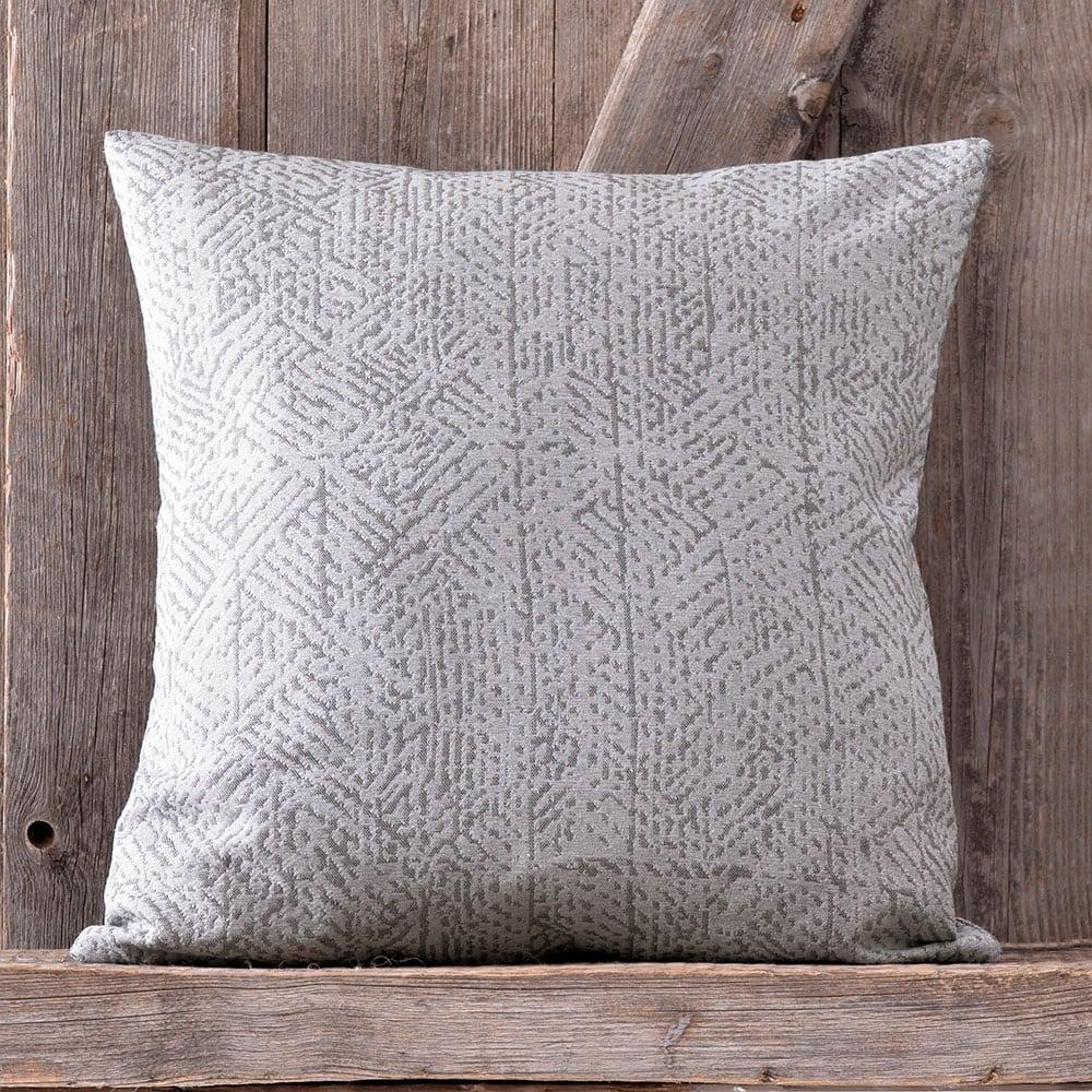 Μαξιλαροθήκη Διακοσμητική Frederic Grey Ρυθμός 40Χ40 Bamboo-Polyester