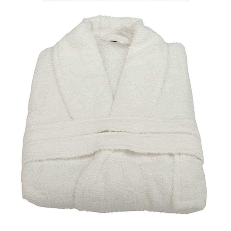 Μπουρνούζι Ξενοδοχείου Prince White 100% Cotton 450gsm Medium M