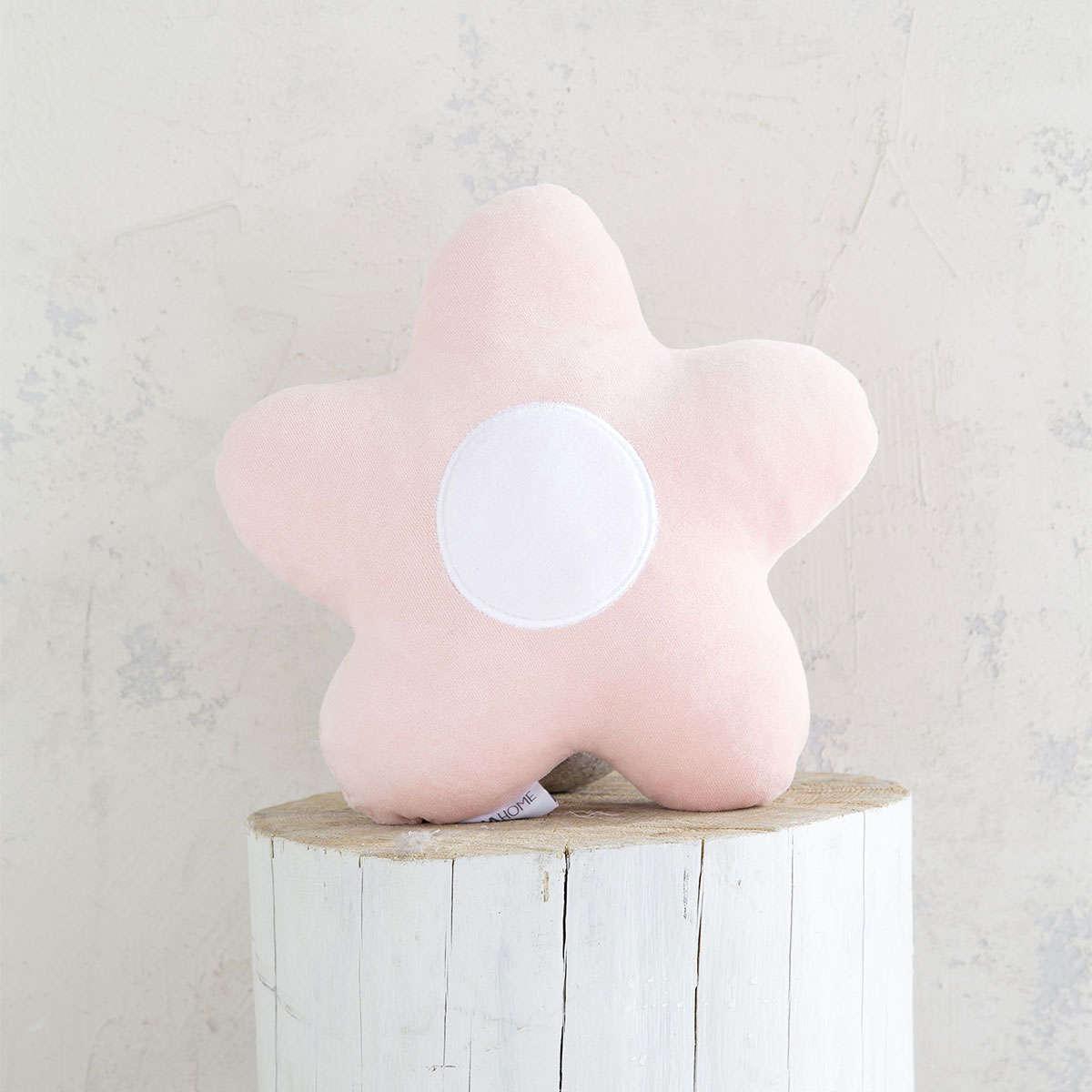 Μαξιλαράκι Παιδικό Διακοσμητικό – Daisy Pink Nima 40Χ40 40x40cm