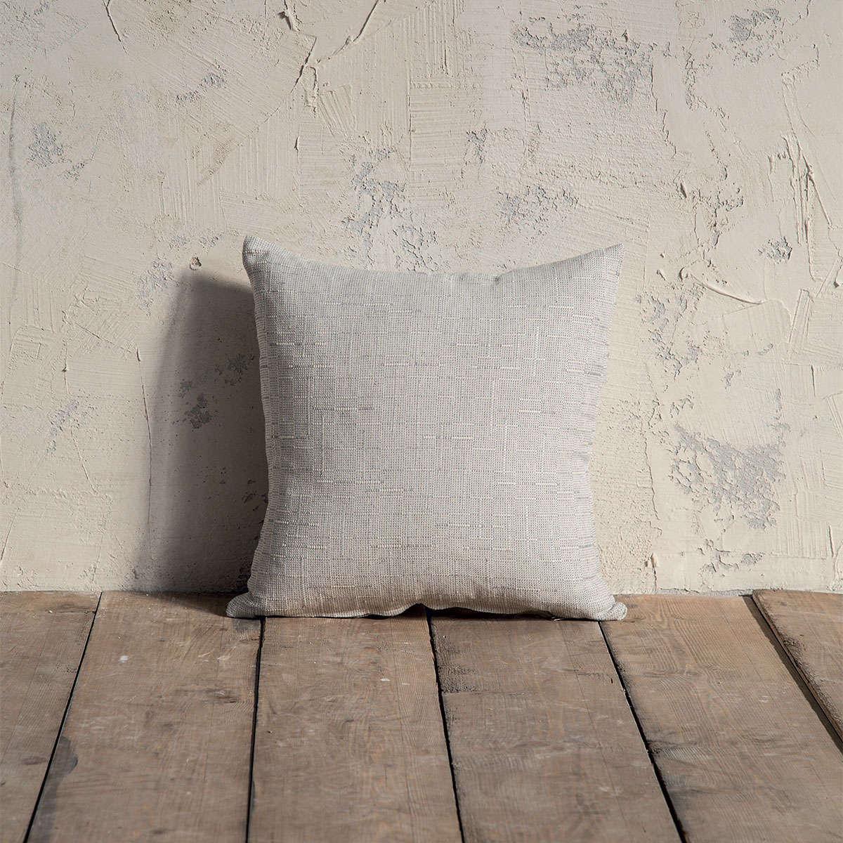 Μαξιλάρι Διακοσμητικό (Με Γέμιση) – Grain Gray Nima 45X45 Βαμβάκι-Polyester
