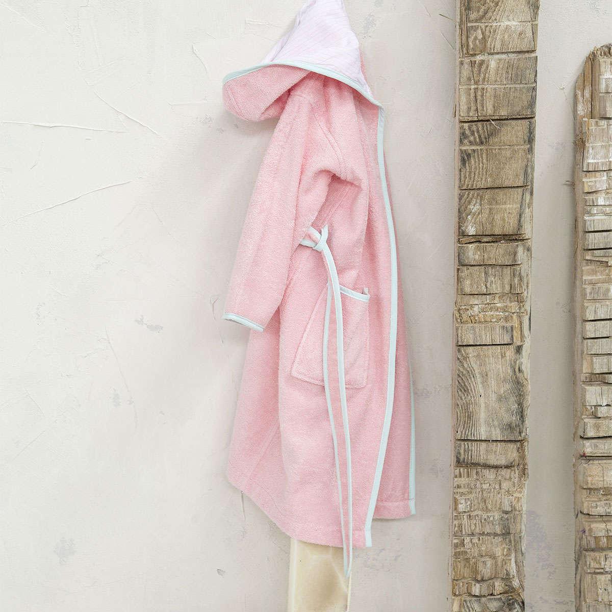 Μπουρνούζι Παιδικό -Nora Pink Nima 6-8 ετών No 8