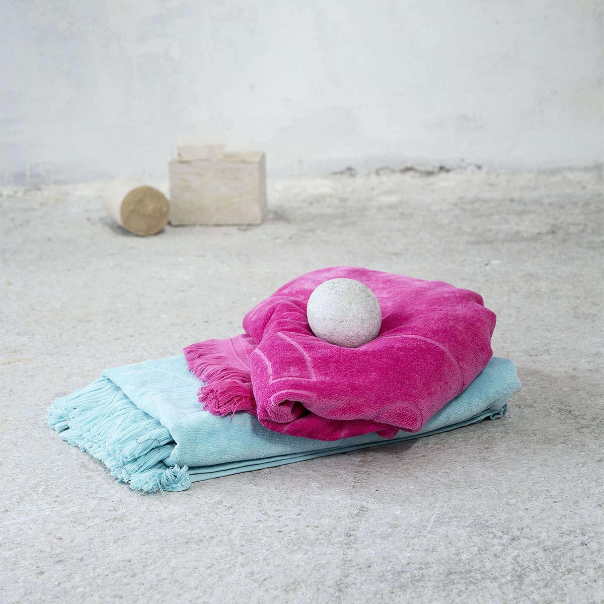 Πετσέτα Θαλάσσης – Fishbone Aqua Nima Θαλάσσης 90x160cm