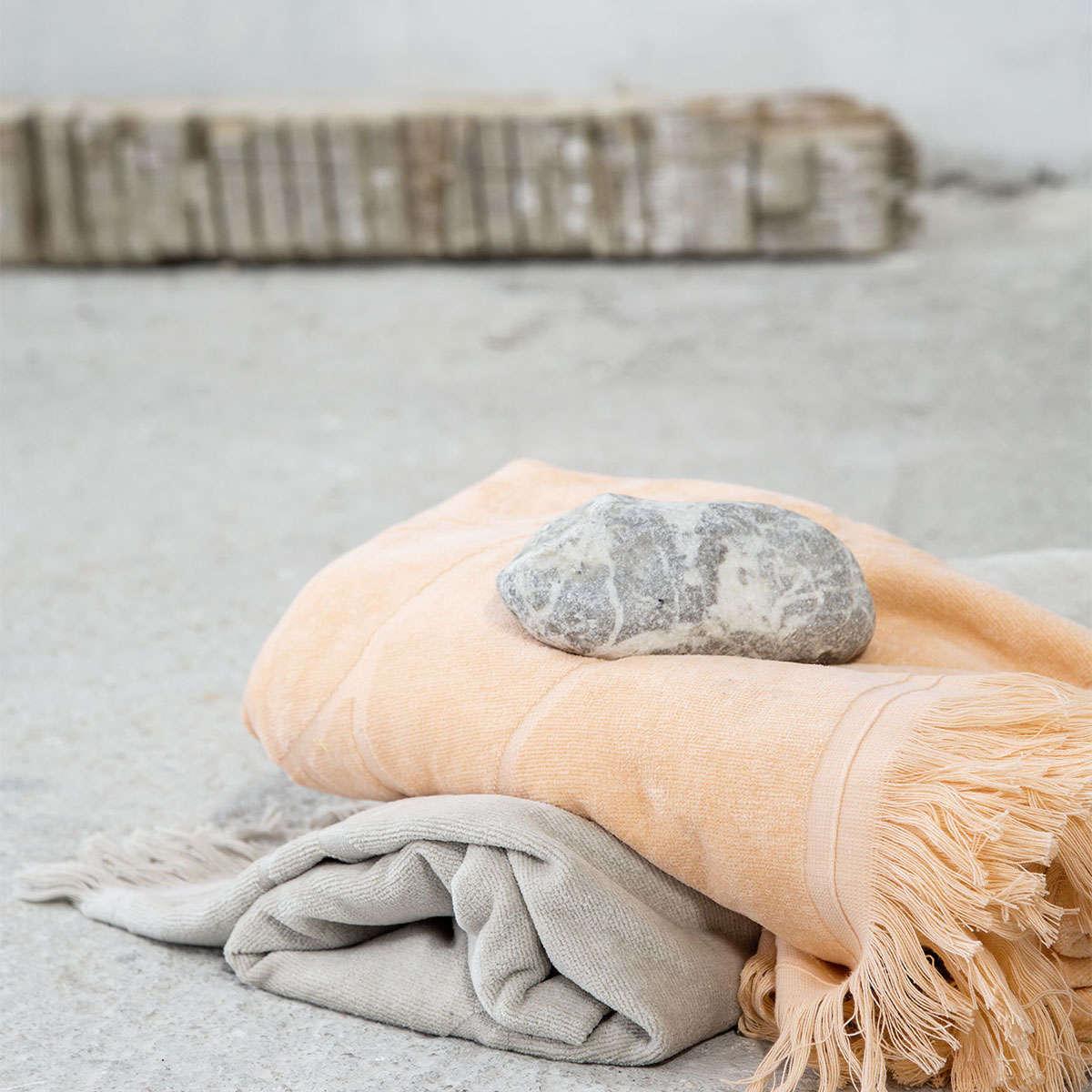 Πετσέτα Θαλάσσης – Lotus Salmon Nima Θαλάσσης 90x160cm