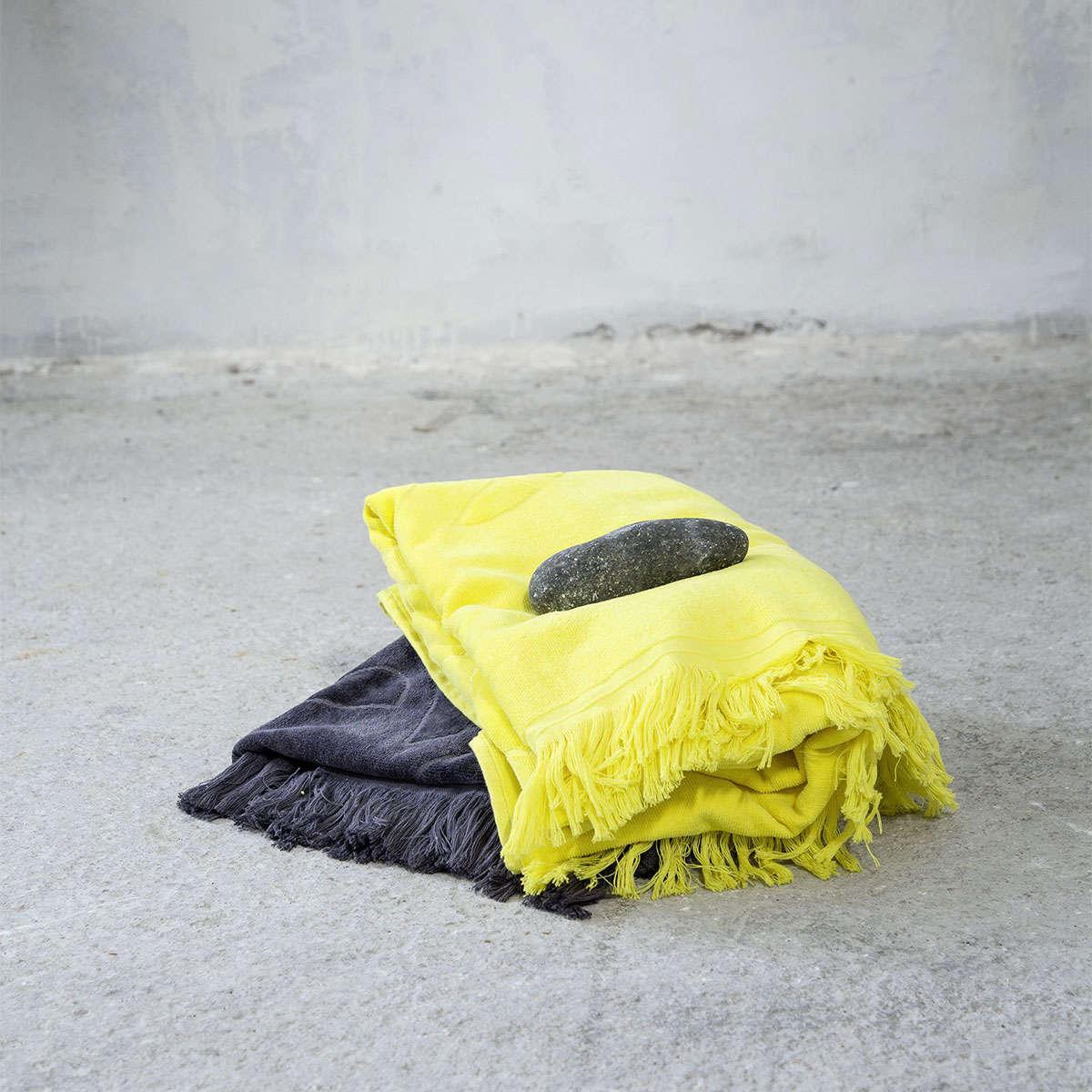 Πετσέτα Θαλάσσης – Pineapple Yellow Nima Θαλάσσης 90x160cm
