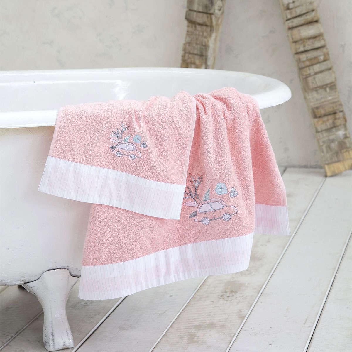 Πετσέτα Παιδική – Nora Pink Nima Σώματος 70x140cm