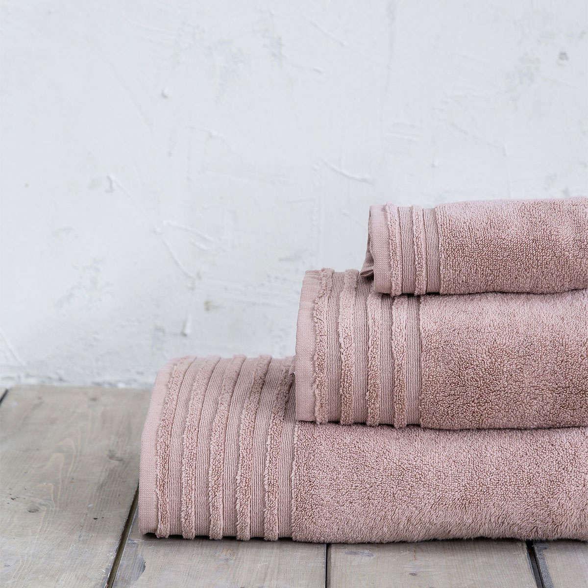 Πετσέτα Vista – Dusty Pink Nima Χεριών 30x50cm