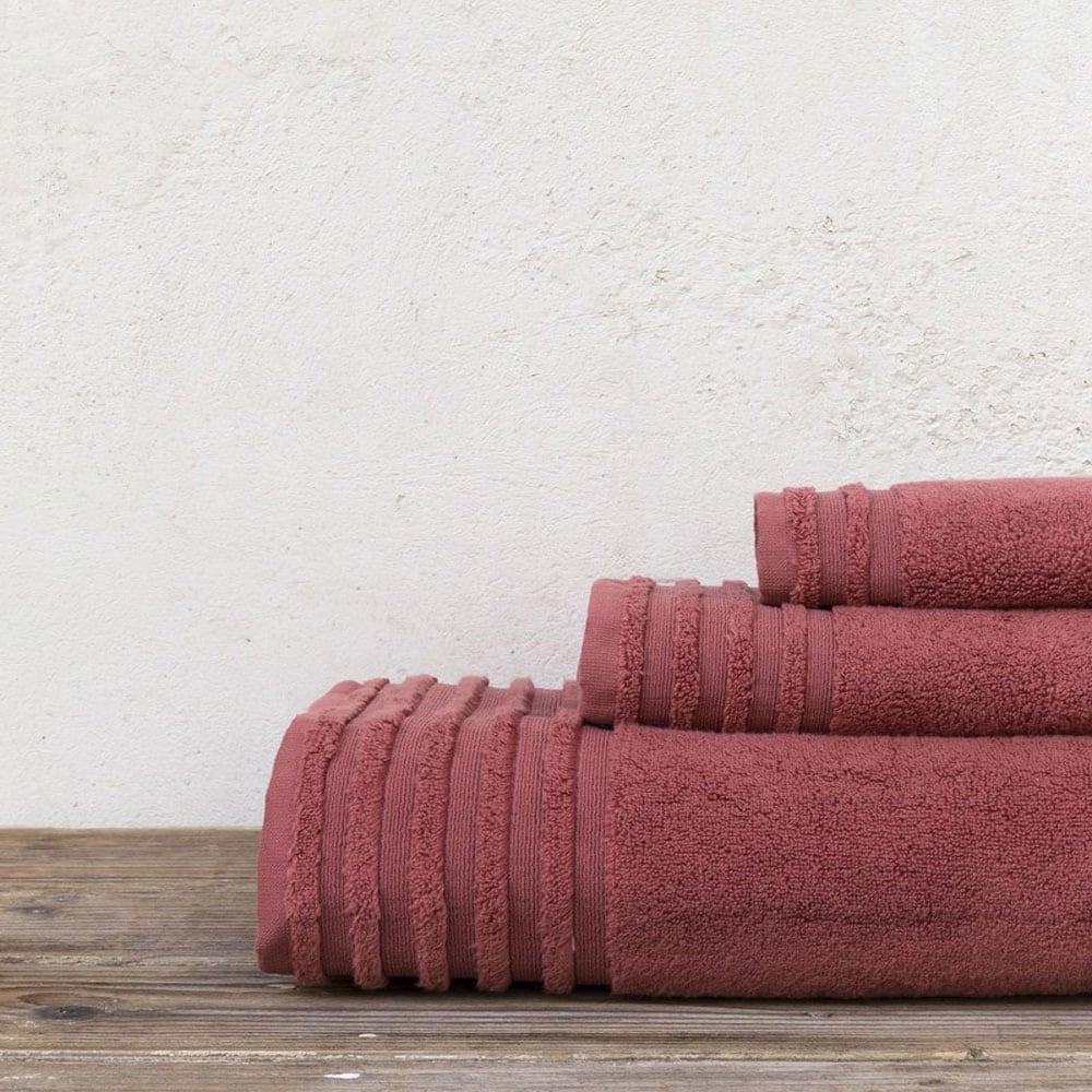 Πετσέτα Vista Terracotta Nima Προσώπου 50x100cm