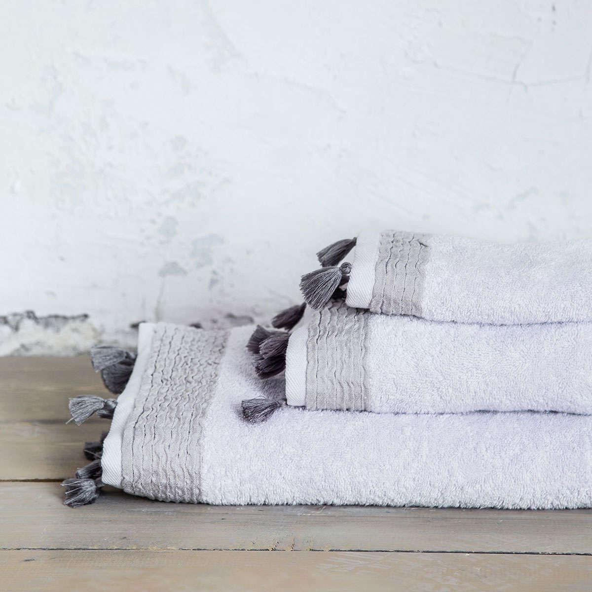 Πετσέτα – Assent Light Gray Nima Προσώπου 50x90cm