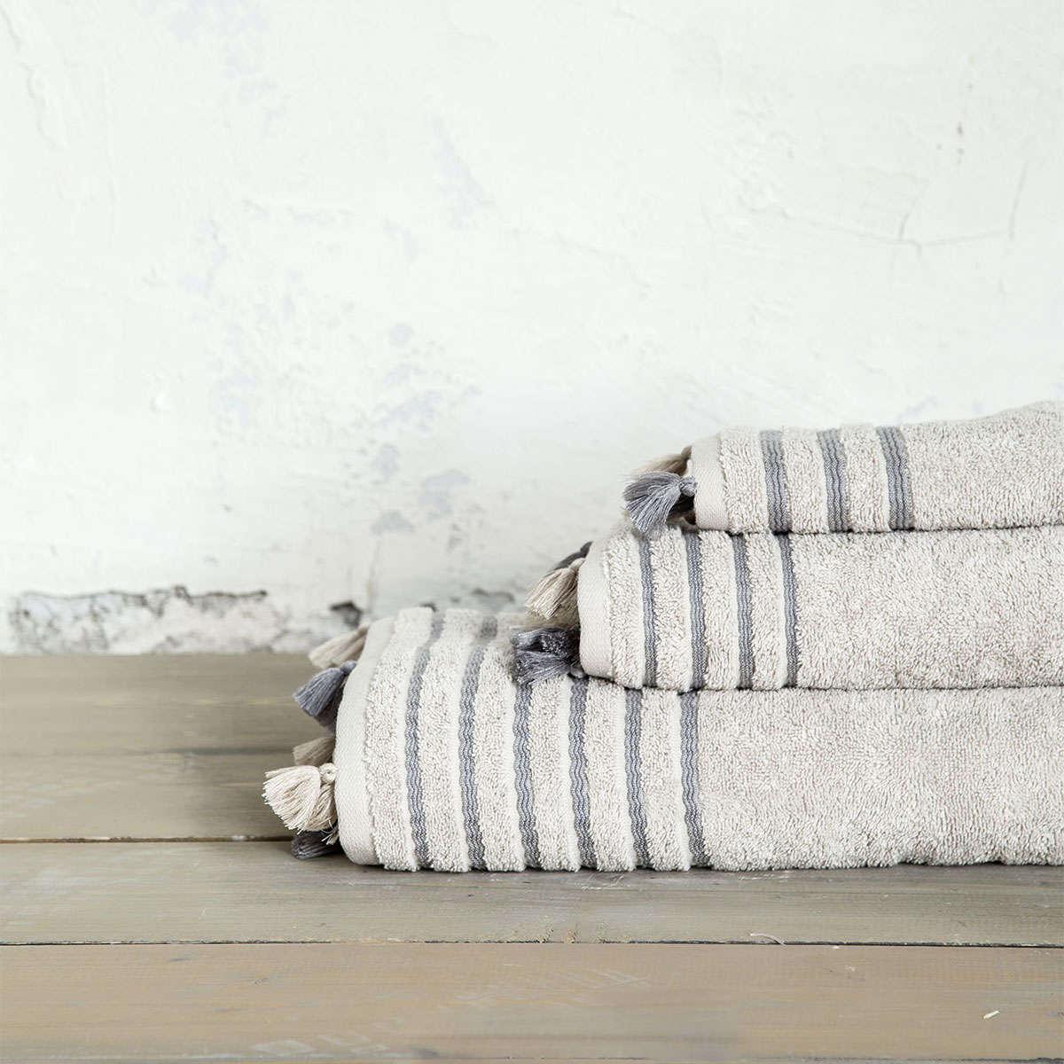Πετσέτα – Demure Beige Nima Σώματος 70x140cm