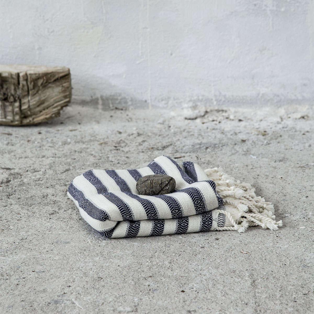 Πετσέτα Θαλάσσης – Παρεό – Assort Navy Nima Θαλάσσης 100x170cm